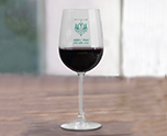 Personalized 16 oz. Vina Tall Wine Glass Customizable Party Favor, Wedding Giveaways Party Prize cheap favors