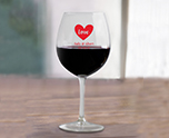 Personalized 18 oz. Vina Balloon Wine Glass Engagement Party Favor, Suitable and Versatile Surprise Set cheap favors