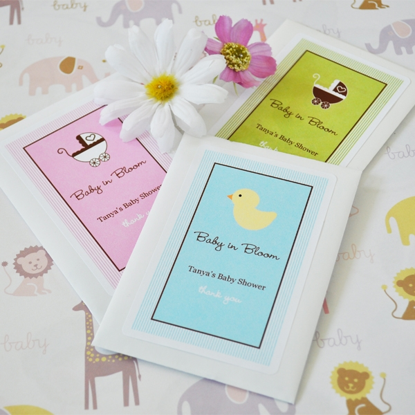 Cheap Wedding Favor Tags Canada : Baby in Bloom