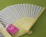 Silk Fan cheap favors