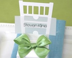 Chair Place Card Boxes cheap favors