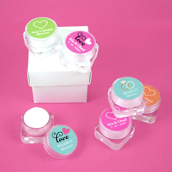 Personalized Theme Hand Cream  wedding favors