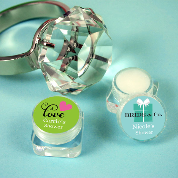Personalized Theme Lip Balm wedding favors
