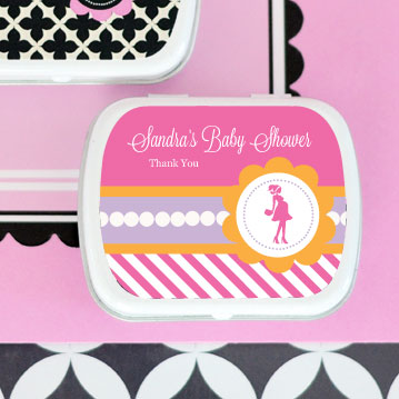 Going to Pop - Pink Personalized Mint Tins wedding favors