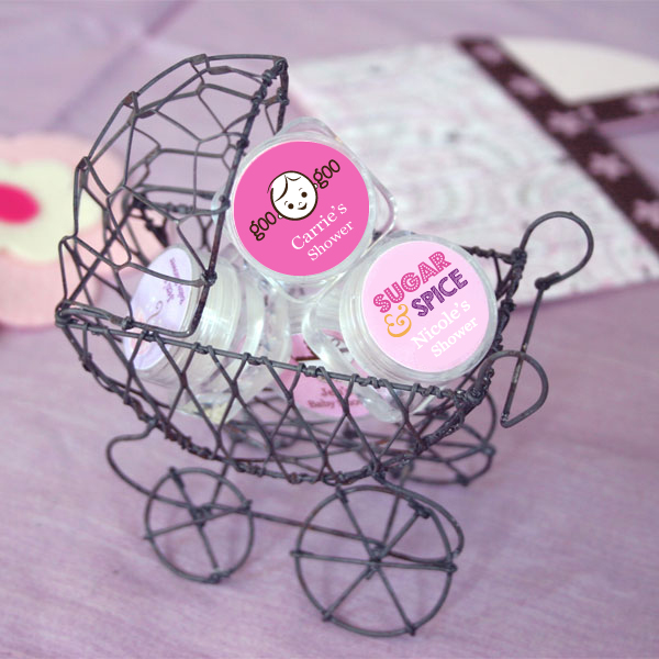 Personalized Baby Shower Lip Balm cheap favors
