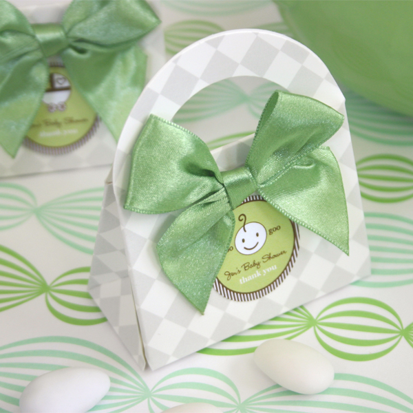 Medium Round Baby Shower Labels wedding favors