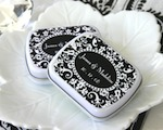 Damask Mint Tins cheap favors