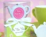 """It's Tea Time!"" Teapot Tape Measure cheap favors"