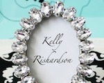 Antique Acrylic Place Card Frame cheap favors