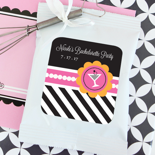 Bachelorette Party Personalized Lemonade + Optional Heart Whisk wedding favors