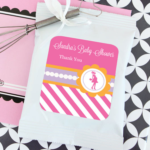 Going to Pop - Pink Personalized Lemonade + Optional Heart Whisk wedding favors