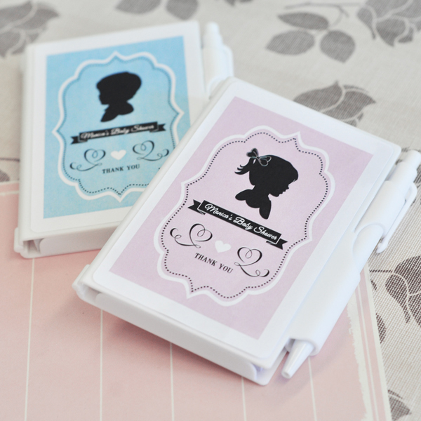 Vintage Baby Personalized Notebook Favors  wedding favors