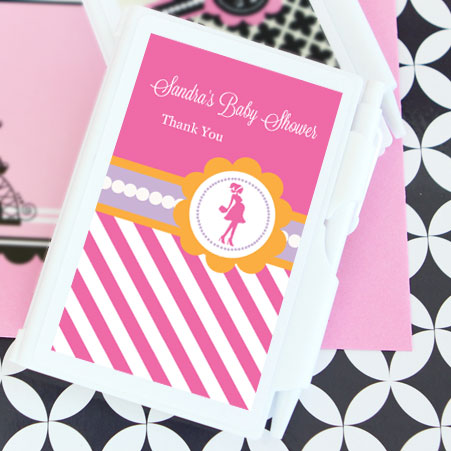 Going to Pop - Pink Personalized Notebook Favors wedding favors