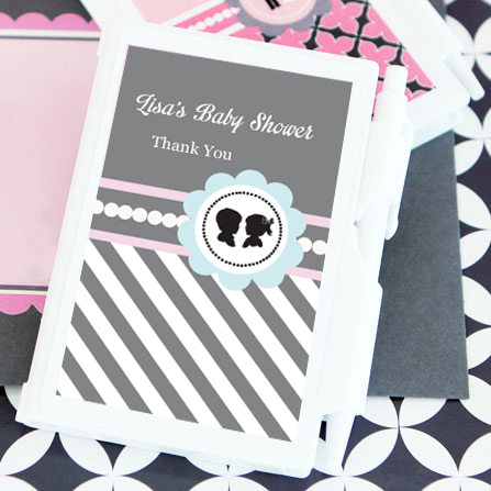 Gender Reveal Party Personalized Notebook Favors  wedding favors