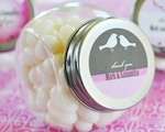 Elite Design Personalized Candy Jars cheap favors