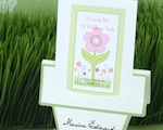 """Flowers in Bloom"" Seed Packets with Flower Pot Card cheap favors"