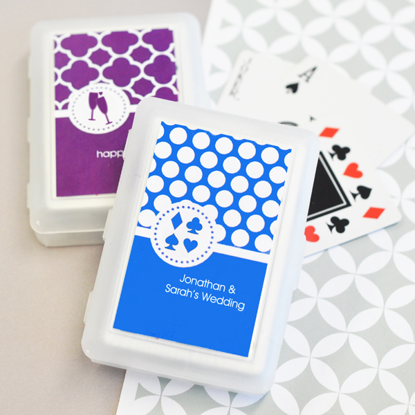 MOD Pattern Theme Playing Cards cheap favors