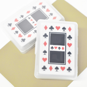 DIY Blank Playing Cards wedding favors