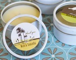 Elite Design Personalized Round Candle Tins  cheap favors