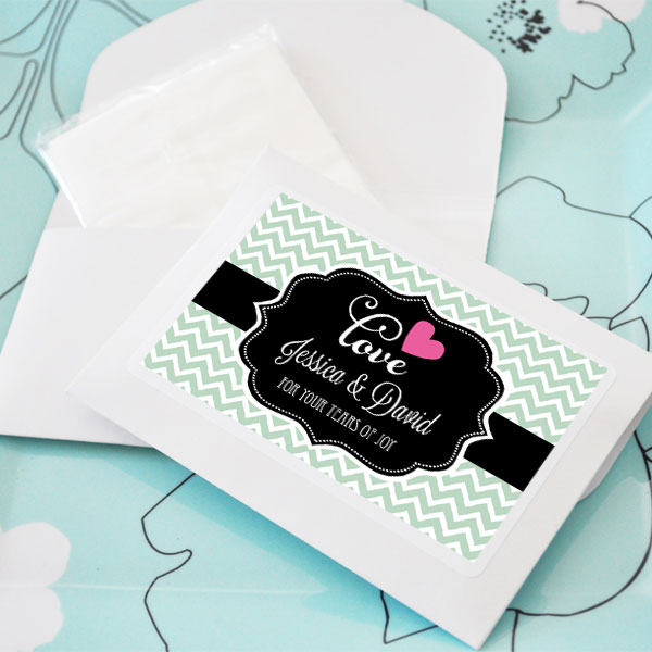 Personalized Theme Tissue Packs cheap favors