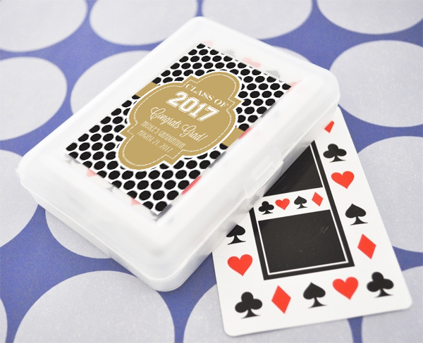Personalized Graduation Playing Cards cheap favors