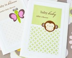 Baby Animals Personalized Seed Packets  cheap favors