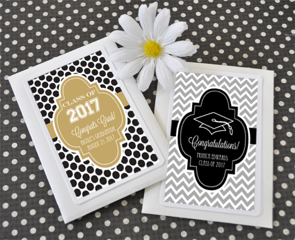 Personalized Graduation Seed Packets cheap favors