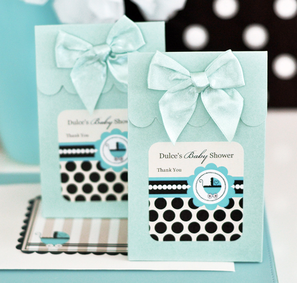 Sweet Shoppe Candy Boxes - Blue Baby wedding favors