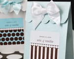 Sweet Shoppe Candy Boxes - Dots and Stripes cheap favors