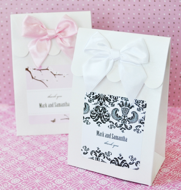 Sweet Shoppe Candy Boxes - Elite Design wedding favors