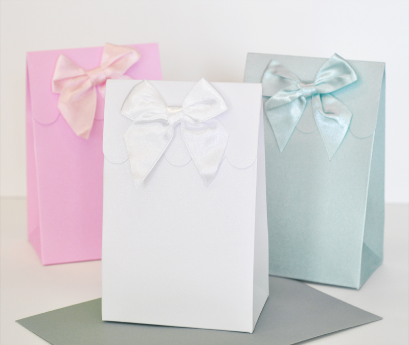 Sweet Shoppe Candy Boxes - DIY Blank (set of 12) cheap favors