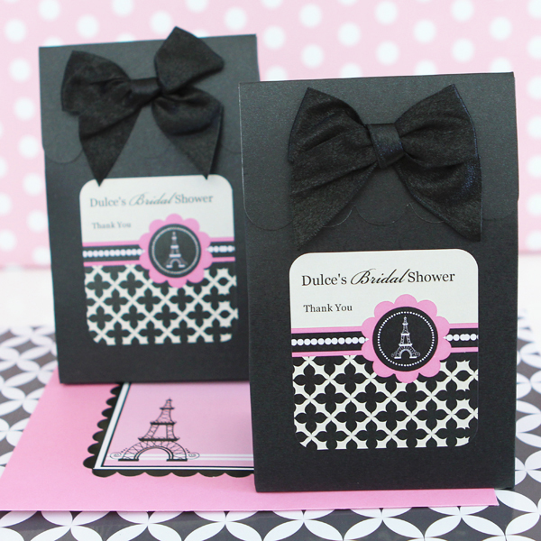 Sweet Shoppe Candy Boxes - Parisian Party wedding favors