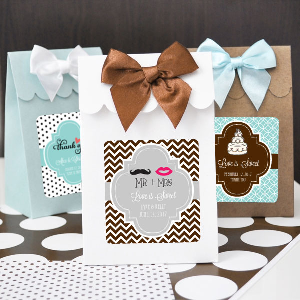 Sweet Shoppe Candy Boxes - Theme (set of 12) cheap favors