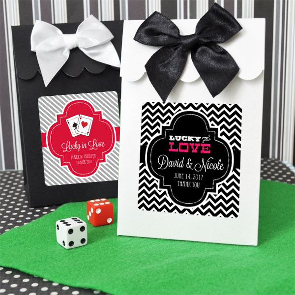 Sweet Shoppe Candy Boxes - Vegas (set of 12) cheap favors