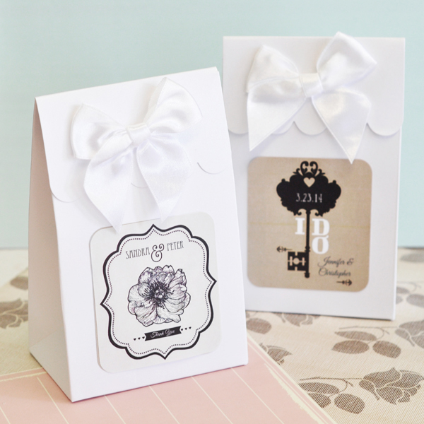 Sweet Shoppe Candy Boxes - Vintage Wedding (set of 12)  cheap favors