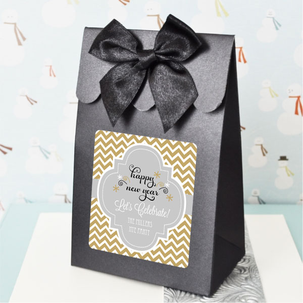Sweet Shoppe Candy Boxes -  Winter (set of 12) wedding favors
