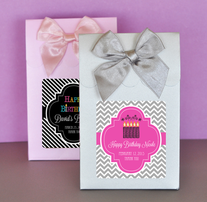 Sweet Shoppe Candy Boxes - Birthday cheap favors