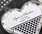 Heart Acrylic Boxes cheap favors