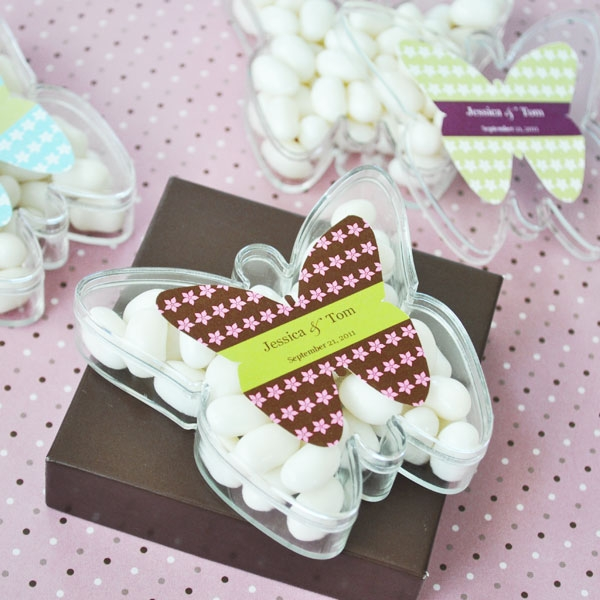 Butterfly Acrylic Boxes wedding favors
