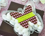 Butterfly Acrylic Boxes cheap favors
