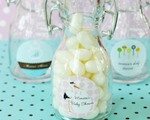 Elite Design Baby Shower Mini Glass Bottles  cheap favors