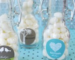 Elite Design Personalized Mini Glass Bottles  cheap favors
