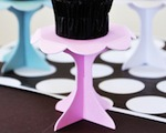 Cupcake Pedestals cheap favors