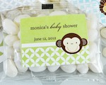 Baby Animal Personalized Jelly Bean Packs  cheap favors