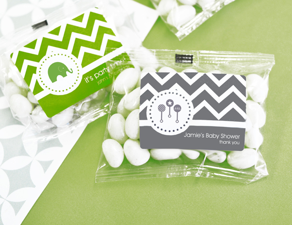 MOD Pattern Baby Jelly Bean Packs wedding favors