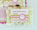 Personalized Jelly Bean Packs - Pink Cake  cheap favors