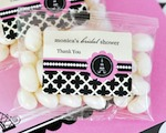 Personalized Jelly Bean Packs - Parisian Party  cheap favors