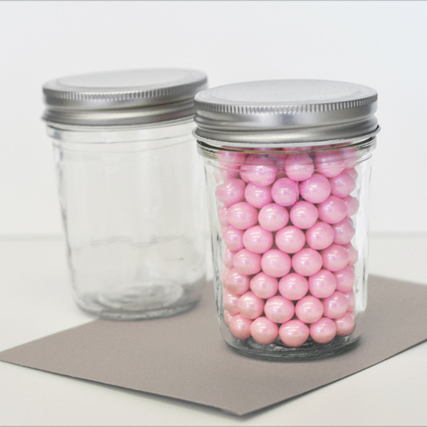 DIY Blank Mini Mason Jars cheap favors