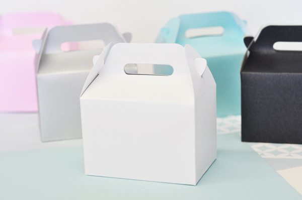 DIY Blank Gable Boxes (set of 12) cheap favors