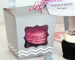 Cupcake 'n' Treats Tote Boxes (Set of 12) cheap favors